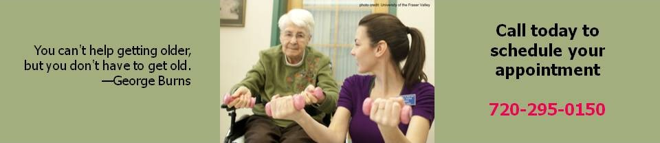 Senior Fitness page header