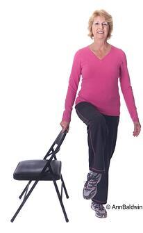 senior balance and fitness