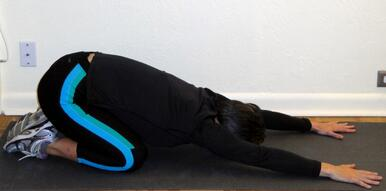low back stretches child's pose