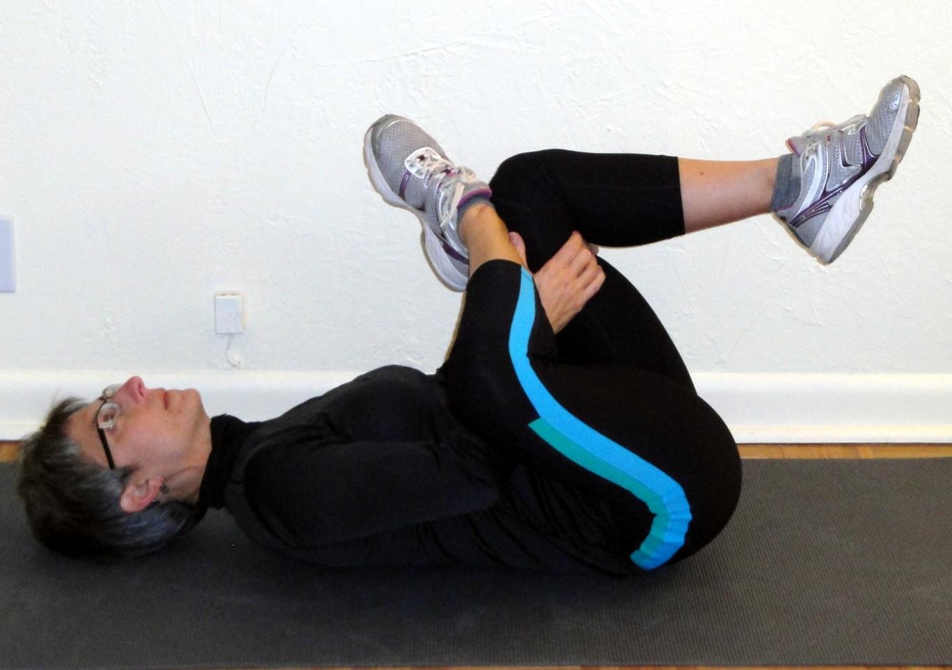 Figure 4 low back stretch