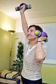 in home personal training for seniors