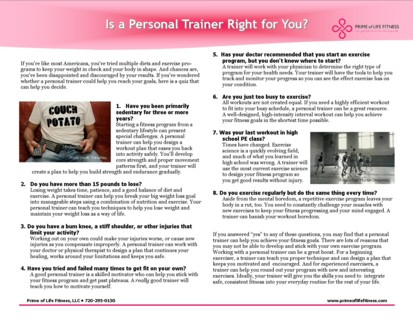 Is a Denver personal trainer right for you?