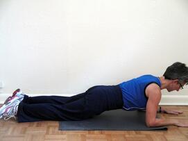 core exercises modified plank