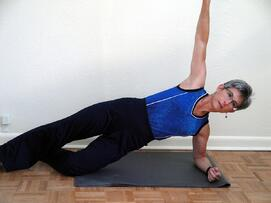 core exercises modified side plank