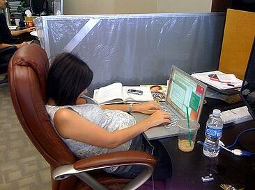 poor posture at your desk job
