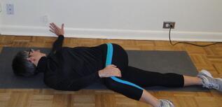 low back stretch lumbar rotation